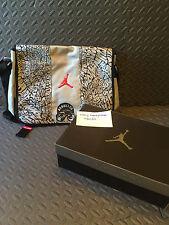 Air Jordan Spizike Fire Red with Messenger Bag sz 9 DS