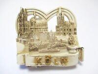 Köln Dom Cologne 3D Poly Fridge Magnet Souvenir Germany creme