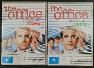 The Office (US) Season 2 Parts 1 & 2. New DVDs. Region 2, 4 PAL. Free postage!