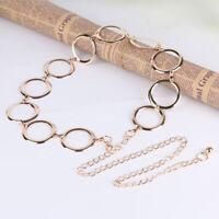 Fashion Game Belt Metal Dress Belt Waist Chain For Women Women Dress Accessories