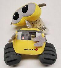 "Disney Pixar WALL-E Plush Stuffed Animal Toy Yellow Robot 6"" Hanging Suction New"