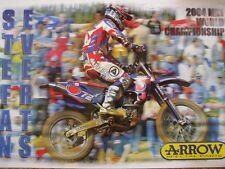 Poster Yamaha YZ450FM 2004 #72 Stefan Everts (BEL)