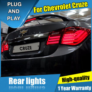 For Chevrolet Cruze Dark / Red LED Rear Lamp Assembly LED Tail Lights 2011-2015