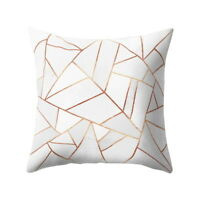 Geometric Printed Polyester Throw Pillow Cases Sofa Cushion Cover Home Decor SP