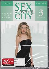 SEX AND THE CITY - SEASON 3 - EPISODES 13, 14, 15, 16, 17 & 18 - DVD