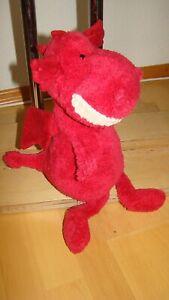 Jellycat  seltener Plüsch Dinosaurier Rot