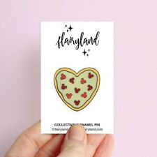 Flairyland Mickey Pizza Heart enamel pin Disney Inspired