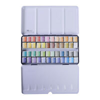 MEEDEN Art Watercolor Tin Palette Paint Set with 24 48 Colors Paints NEW