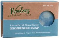 100% Natural Handmade Bar Soap, 4 oz bar 1 pack Lavender & Shea Butter