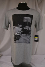Nwt Nike Men'S Gray Dry Moonshot Basketball Tee Size Small 857932 063