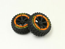 Kyosho Sandmaster Tire&WheelSet w/Orange Flange( KYOEZ002OR