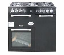 Leisure 90cm Dual Fuel Range Cooker CK90F232K Double Oven Black #1671