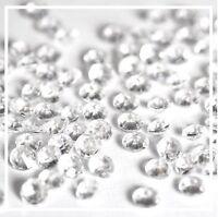 Diamond Table Confetti Crystal Decoration Wedding Party Diamante Sparkly Gem -UK