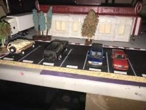 Ho 1/87 Scale Car Parking Stone Set  20pcs