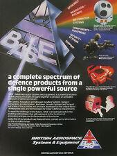 6/1989 PUB BRITISH AEROSPACE SYSTEMS EQUIPMENT OPTRONICS NAVIGATION SECURITY AD