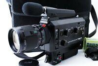 【N.MINT w/ Case】 ELMO Super 8 1012 S-XL Macro 8mm Movie 7.5-75mm Lens From JAPAN