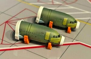 JC4GSESETB Airbus A320 Front Fuselage Sections Set JC Wings  1:400