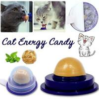 For Cat Pet Healthy Snacks Catnip Sugar Candy Licking Nutrition Energy Ball Toy