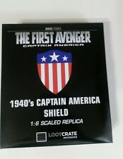 Loot Crate Exclusive Jan 17 Avengers Captain America 1940's 1:6 Shield Replica