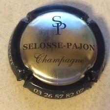 Capsule de champagne SELOSSE-PAJON  (acier contour noir)