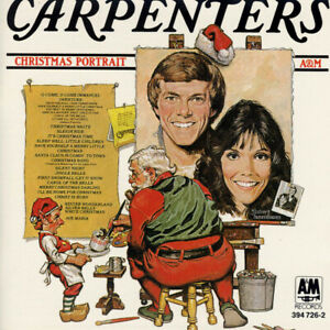 Carpenters ‎– Christmas Portrait / A&M Records CD 1985  ‎– 394 726-2