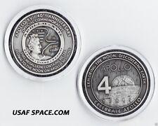 APOLLO 17 - FLOWN TO THE MOON - 40TH ANNIVERSARY - ORIGINAL NASA MEDALLION MINT