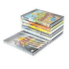 100 protectors Case Sleeve box ideal DVD xbox Wii U PS3 GameCube Protector