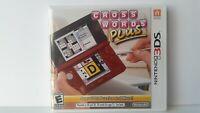 Crosswords Plus (Nintendo 3DS, 2012) New (Sealed) Complete CIB 2DS Crossword