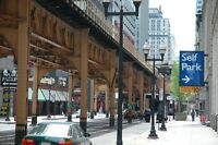 Chicago Wabash Ave. Self Park  original signed Giclee photograph by Arnold