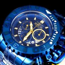 Invicta Sea Hunter Gen II Blue Label 70mm Chronograph Swiss MVT Steel Watch