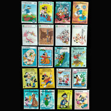 20 Pcs All NEW Big Size Cartoon World Wide Postgae Stamps For Collection Gift