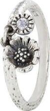 Anelli di lusso in argento sterling con zircone zircone
