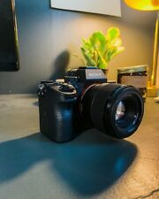 Sony a7 III 24.2 MP Mirrorless Digital Camera w/ Sony 50mm 1.8, shutter (7696)