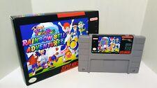 Pop'n Twinbee: Rainbow Bell Adventures - English NTSC Patch SNES - Popn RBA