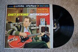 Chet Atkins Workshop Living Stereo Record lp original vinyl album