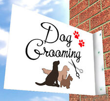 Dog Grooming Wall SIGN, for Pooch Parlour, SHOP FRONT, Aluminium Sign, Shop Sign