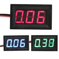 VS2# V27D Digital Voltmeter LED Panel 3-Digital Display DC 0-40V Voltage Meter 3
