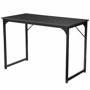 Douxlife DL-OD01 Black Steel Computer Home Office Study Table Desk Workstation