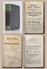 Diesterweg Rheinische Blätter Erziehung & Unterricht 1845 Pädagogik Pestalozzi