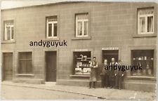 More details for real photo postcard errol shop front perthshire saddler post office scotland