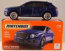 MATCHBOX POWER GRABS #9 Bentley Bentayga, 2021 issue (NEW in BOX)