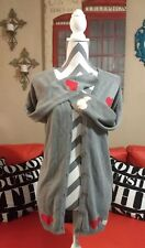 WOMENS LOVE CULTURE SWAN HEART GRAY CARDIGAN M/L