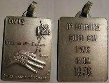 medaglia donatori di sangue AVIS 1976
