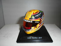 CASCO HELMET LEWIS HAMILTON 2017 WINNER F1 SPARK EDITIONS 1/5 URNA RAJADA