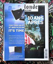 Le Monde magazine sept 2011 /// 2001-09-11 dix ans après !