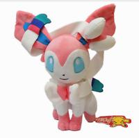 "Pokemon Plush Sylveon Fairy Soft Toy Stuffed Animal Doll 8"""