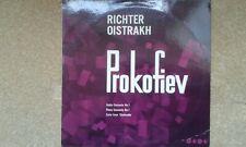 Prokofiev: Violin Concerto 1 /'Cinderella' LP Richter - piano, Oistrakh – violn