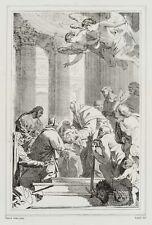 JOURDY(19.Jhd) nach Simon Vouet, Darbringung Jesu im Tempel, Lithographie