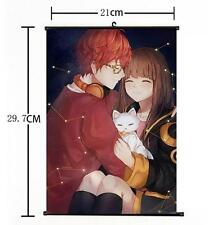 Hot Japan Anime Mystic Messenger Luciel Choi Poster Wall Scroll Home Decor