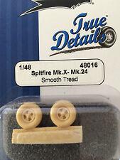 True Details Spitfire Mk.X - Mk.24 Wheel Set TD48016